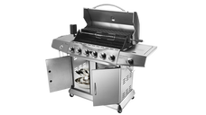 2-in-1 stainless steel BBQ grill (GC-6098)