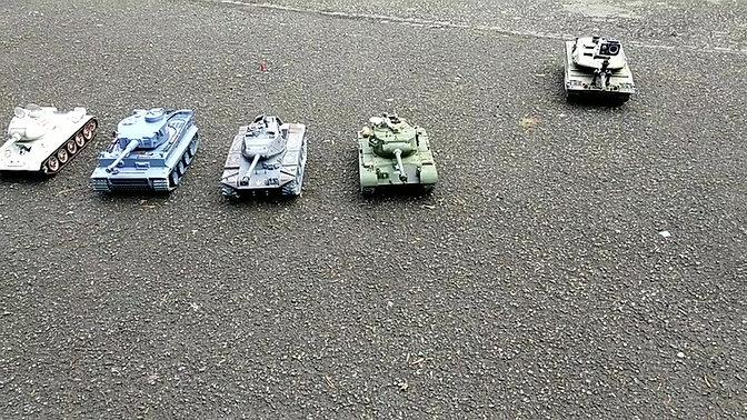 Remote Control Tanks