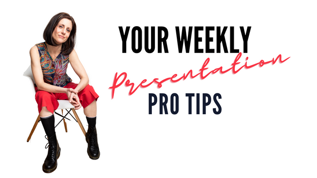 Your Weekly Pro Tips
