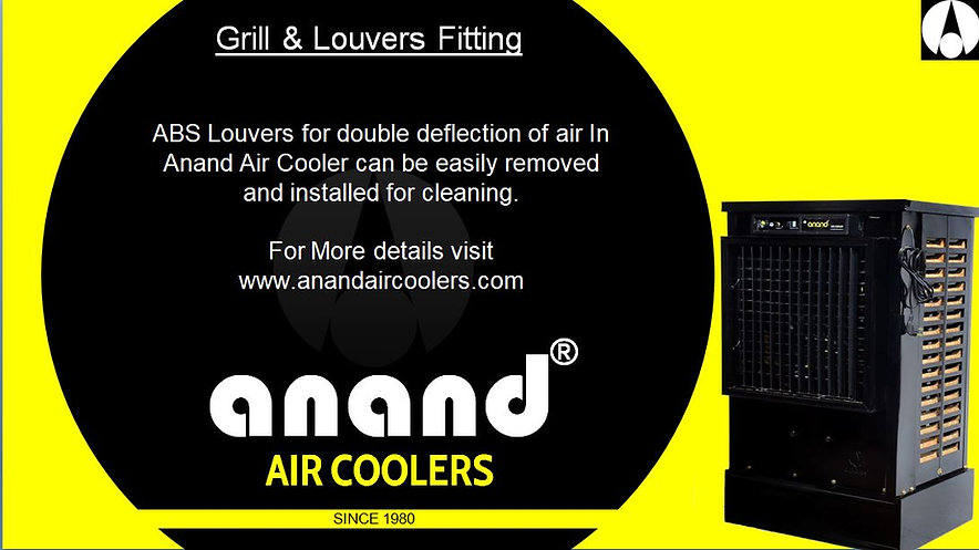 ABS Louver Fitting in Anand Air Cooler
