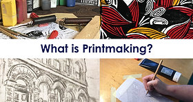 Printmaking by Thread and Press