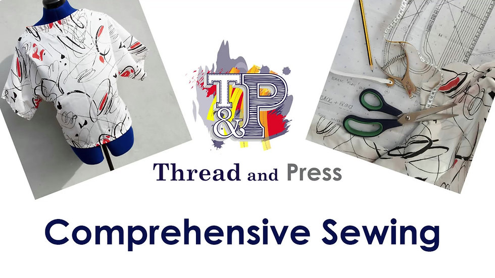 Comprehensive Sewing by Thread and Press