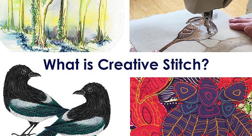 Creative Stitch by Thread and Press