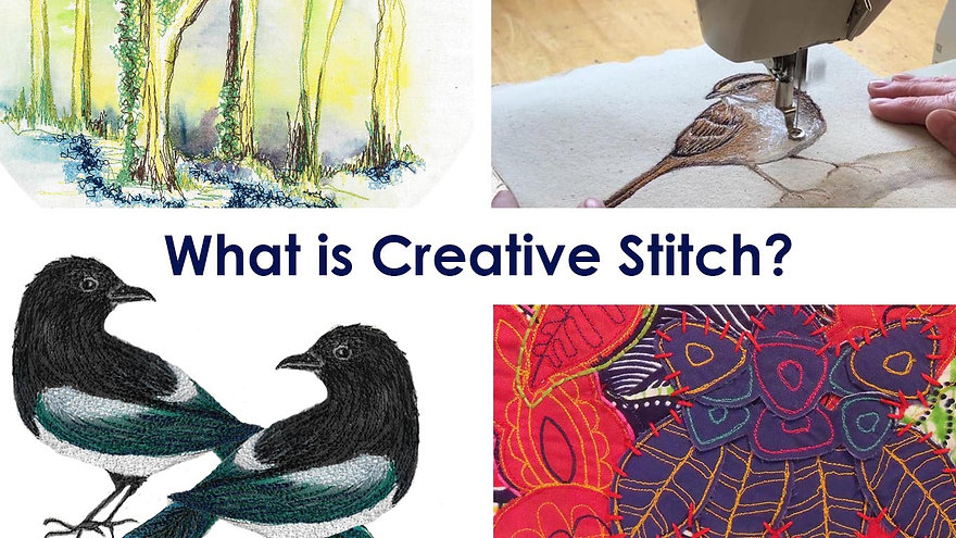 Creative Stitch by Thread and Press