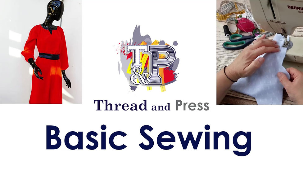 Basic Sewing by Thread and Press