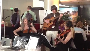 Guitar and strings trio