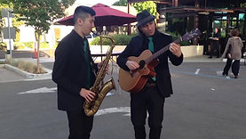 Guitar and Saxophone