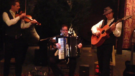Accordion, Guitar and Violin