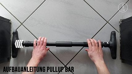 Aufbauanleitung Pullup Bar