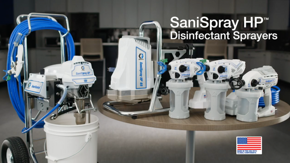 Graco Disinfectant Sprayers