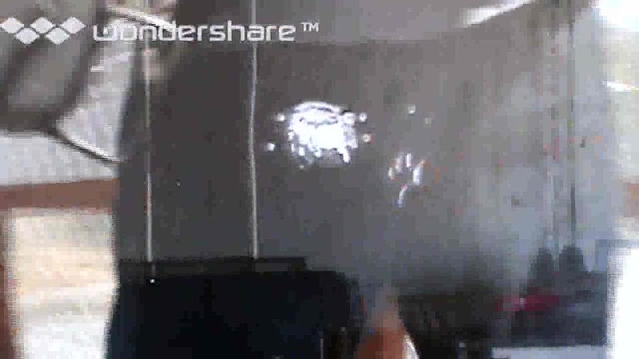 방탄, 방폭 테스트 영상