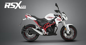 Sinnis RSX 125cc - Made For The Street