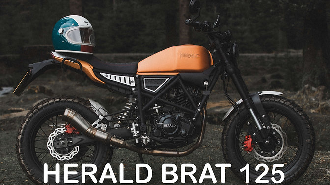 Herald Brat 125 Copper (2020) Exterior and Interior