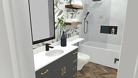 Guest Bathroom Remodel Concepts