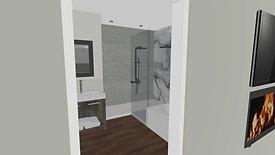 Master Bath Space Plan