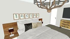 Master Bedroom and Bathroom Remodel Design Concept