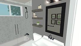 Guest Bath Remodel Design Concept