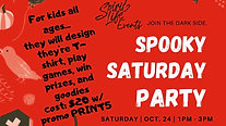 Spooky Saturday video Facebook Post