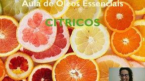 Aula óleo essencial de Cítricos