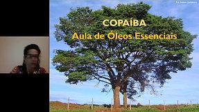 Aula óleo essencial de Copaíba