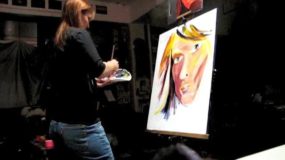 Painting Live