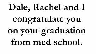 Justine Graduation Words of Wisdom