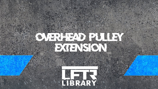 Overhead Pulley Extension
