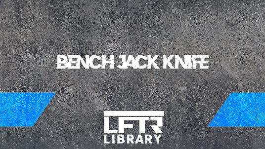 Bench Jack Knife