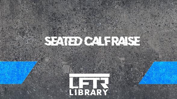 Seated Calf Raise