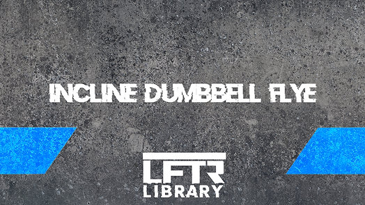 Incline Dumbbell Flye