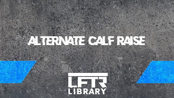 Alternate Calf Raise