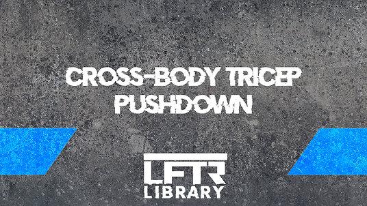 Cross Body Tricep Pushdown