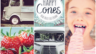 Happy Cones - Real Fruit Ice Cream