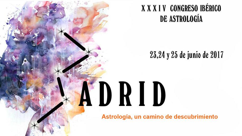 Memoria del XXXIV Congreso Ibérico de Astrología. Organizado por Astro&Ideas SL