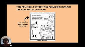 Video 11 political cartoon