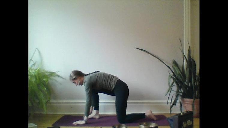 Saturday Morning Yoga- LIVE!!!