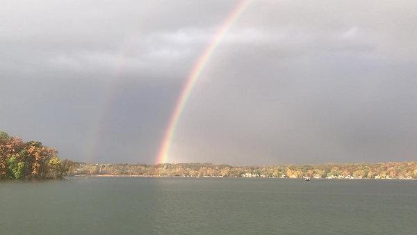 Rainbow over Okauchee