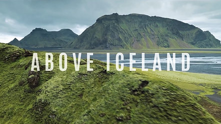 """Above Iceland"" 