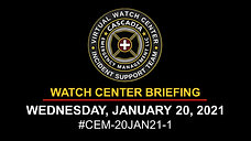 20JAN21_CEM WATCH CENTER