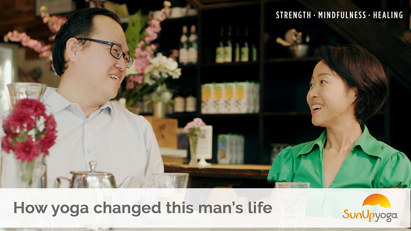 How Yoga Changed His Life