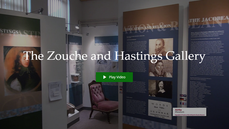The Zouche and Hastings Gallery