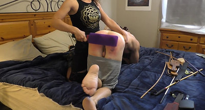Victoria Kay Paddle Action