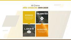 GESTIÓN FCN AÑO COSECHA 2019-2020