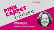 Pink Carpet Interview: Janie Ahlberg