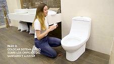 ¿Cómo instalar asiento Castel Asiento Premier