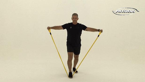 Exercicios para MMSS com elásticos