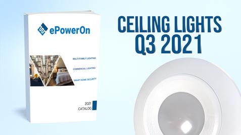 Q3 2021 CATALOG: CEILING LIGHTS