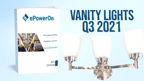 Q3 2021 CATALOG: VANITY LIGHTS