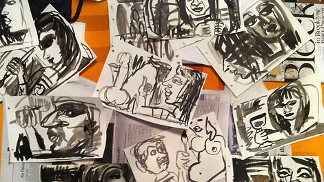 Mary Jones: Dementia Drawings