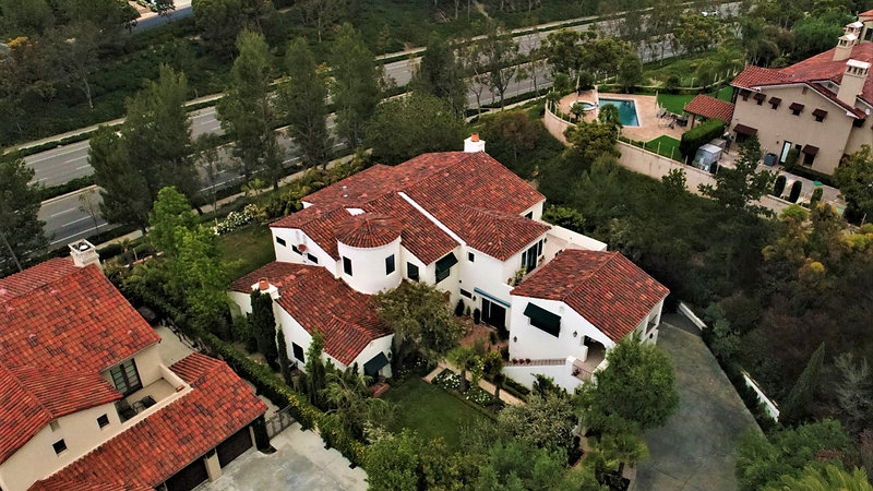 Aerial Roof Inspection Newport Coast